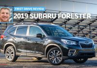 Subaru forester New 2019 Subaru forester Limited Review It Still Ain T Broke