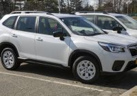 Subaru forester New File 2020 Subaru forester Base In Crystal White Front