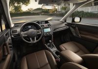 Subaru forester New Subaru Announces Pricing 2017 forester Models