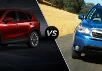 Subaru forester Vs Mazda Cx 5 Best Of 2016 Mazda Cx 5 Vs 2017 Subaru forester