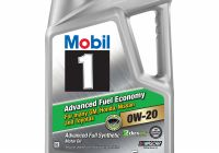 Synthetic Blend Vs Full Synthetic Oil Luxury Mobil 1 Advanced Fuel Economy Full Synthetic Motor Oil 0w 20 5 Qt Walmart