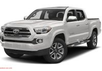 Tacoma Double Cab Long Bed Lovely 2018 toyota Ta A Limited V6 4×4 Double Cab 127 4 In Wb
