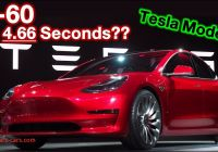 Tesla 0-60 Model 3 Best Of Tesla Model 3 0 60 In 4 66 Seconds Youtube