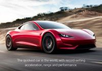 Tesla 0 to 60 Luxury Tesla Roadster Sprints From 0 60mph In Just 1 9 Seconds