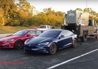 Tesla 1/4 Mile Elegant This is What It Takes to Set A Tesla P100d 1 4 Mile World