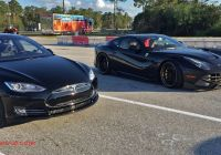 Tesla 1/4 Mile Lovely Tesla Model S P85d Vs Ferrari F12 Drag Racing 1 4 Mile
