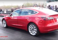 Tesla 1/4 Mile New Tesla Model 3 Owner Sets 1 4 Mile Record In Latest