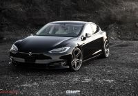 Tesla 1 Best Of Photoshoot Black Tesla Model S P100d Gets Vossen Hc 1