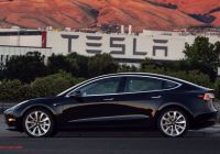 Tesla 1 Unique First Photo Of Tesla Model 3 Production Car Musk Gifted