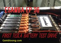 Tesla 18650 Battery Lovely 18650 Tesla Battery Drive Test Esamba Diy Ev Conversion