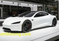 Tesla 2020 Price Inspirational 2020 Tesla Roadster Makes European Debut Dressed In White
