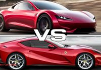 Tesla 2020 Roadster Unique 2020 Tesla Roadster Vs 2018 Ferrari 812 Superfast Youtube