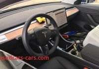 Tesla 3 Interior Lovely Tesla Model 3 Controversial Interior Confirmed In Latest