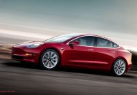 Tesla 3 Manual Unique Electric Vehicle Prices Finally In Reach Of Millennial Gen