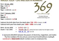 Tesla 369 Best Of 3 6 9 From A Different Angle Creative Numerology by