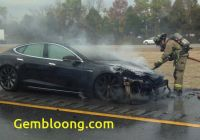 Tesla 4 Wheeler Awesome Tesla Models S Catches Fire for A Third Time but thats