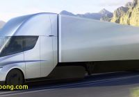Tesla 4 Wheeler Lovely Elon Musk Unveils Teslas First Electric 18 Wheeler