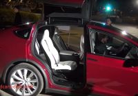 Tesla 6 Seater Price Awesome Tesla Model X with 6 Passenger Seating Video