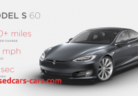 Tesla 60 Awesome Tesla Introduces Less Expensive Model S 60 and 60d Variants