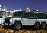 Tesla 6×6 New Got 585000 This Land Rover Defcon 6×6 Defender is for Sale