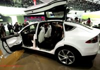 Tesla 7 Seater Suv Awesome Suv Minivan or All Wheel Drive Tesla Model X Will Be