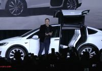 Tesla 7 Seater Suv Beautiful Tesla Unveils the Model X the Worlds Longest Range