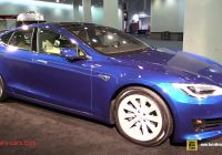 Tesla 75d Beautiful 2017 Tesla Model S 75d Walkaround 2016 La Auto Show