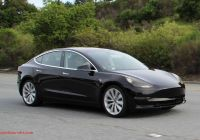 Tesla 8 Beautiful Tesla Model 3 First Spy Shots Completely Undisguised