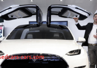 Tesla 8 Seater Elegant New Tesla Finally Hits the Streets today 7 Seater Model X
