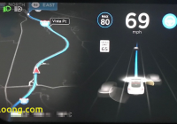 Tesla 9 Lovely Tesla Autopilot On Version 9 Mad Max Mode Path Planning