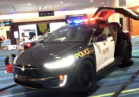 Tesla Acquisition Elegant sorry Lapd Swiss Police are Ting Tesla Model X