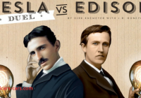 Tesla and Edison Beautiful Tesla Vs Edison Duel Makes the War Of Currents A 2 Player
