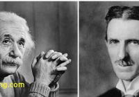 Tesla and Einstein Fresh while Nikola Tesla Was Busy Building His Peace Beam