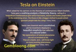 Inspirational Tesla and Einstein
