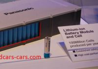 Tesla and Panasonic Best Of Charged Evs Teslas Li Ion Battery Supplier to Increase