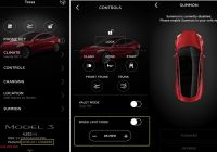 Tesla App Awesome Closer Look at Tesla Model 3 Speed Limit Mode and Summon