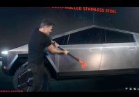 Tesla Armor Glass New Behind the Fiasco that Was the Tesla Cybertruck Launch