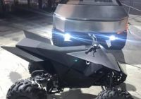 Tesla atv Best Of Tesla Brings Out Cybertruck atv and Roadster at Company