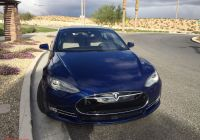 Tesla Battery New Tesla Model S In Deep Blue Metallic