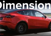 Tesla Brand Awesome Tesla Model Y Dimensions Confirmed How Does It Size Up
