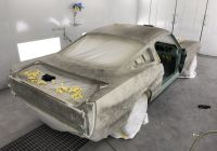 Tesla Bros New All New All Metal 1966 Fastback Mustang In Pe Primer and