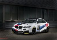 Tesla Cage New Bmw S M235i Race Car Gains Evo Pack Be Es the M240i