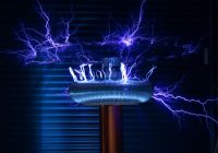 Tesla Coil Beautiful In Everyone S Home the Electricity Runs Through Available