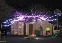 Tesla Coil Best Of Long Exposure Of A Tesla Coil Pics