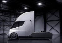 Tesla Cyber Bus Unique Elon Musk Reveals Tesla S Electric Semitruck