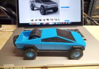 Tesla Cybertruck Hot Wheels Awesome Makes Of Tesla Cybertruck by Ultrastickman Thingiverse