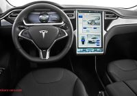 Tesla Cybertruck Interior Lovely Tesla Adds First Driver assist Features to Model S