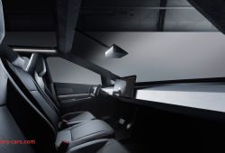 Luxury Tesla Cybertruck Interior