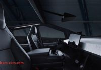 Tesla Cybertruck Interior Unique Tesla Cybertruck Pickup Electrica Interior 1 Mega Autos