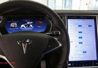 Tesla Dashboard New Teslas Infotainment Dashboard Screen tops Consumer